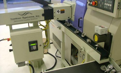 machine unloading robots, toellner systems